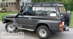 Portbagaj Roof Rack fara plasa Nissan Patrol Y60 Scurt
