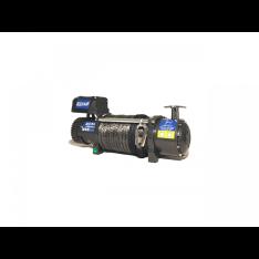 Troliu Husar Winch 10000 LBS 4536KG 12V cablu sintetic