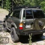3 Bara spate OFF ROAD Nissan Patrol Y61