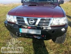 Bara de protectie fata OFF ROAD pentru Nissan Patrol Y61