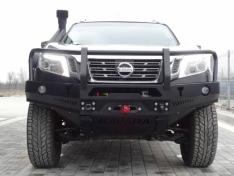 Bara fata OFF ROAD cu bull bar Nissan NAVARA D23 2016-