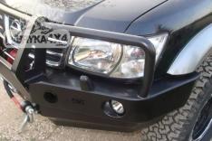 Bara fata OFF ROAD cu bull bar Nissan Patrol Y61