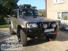 Portbagaj Roof Rack cu plasa Nissan Patrol Y61 Scurt
