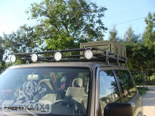 Roof rack y61 Scurt cu plasa