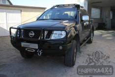 Bara fata OFF ROAD cu bull bar Nissan NAVARA D40 05-10