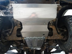 Scut aluminiu motor Mitsubishi Pajero II 2.8D automat 91-99