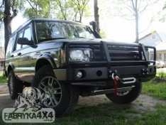 Bara fata OFF ROAD cu bull bar Land Rover Discovery II