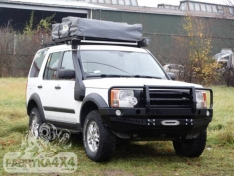 Bara fata OFF ROAD cu bull bar Land Rover Discovery III