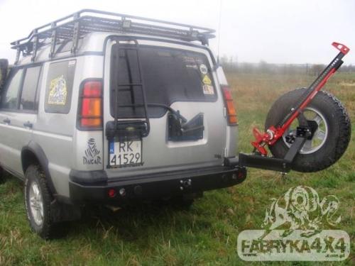 Suport roata de rezerva Land Rover Discovery II___
