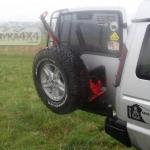 Suport roata de rezerva Land Rover Discovery II____