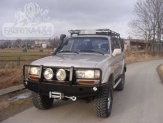 Bara fata OFF ROAD cu bull bar Toyota Land Cruiser J80 89-98
