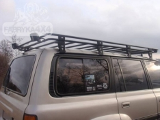 Portbagaj Roof Rack fara plasa Toyota Land Cruiser J80 89-98