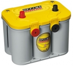 Acumulator Optima 55Ah 765A yellow (plus stanga)