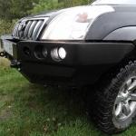 Bara fata OFF ROAD fara bull bar Toyota Land Cruiser J120 02-09_