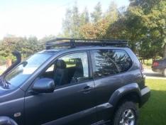 Portbagaj Roof Rack fara plasa Toyota Land Cruiser J125 02-09