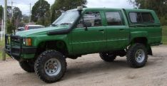 Snorkel Toyota Hilux seria 65-1983 -1988 benz. și diesel