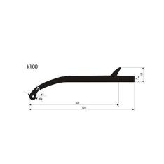 Overfender universal 100mm K100
