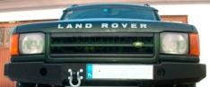 Bara fata OFF ROAD cu placa pentru troliu pentru Land Rover Discovery II 1998-2004