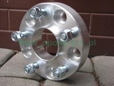 Flanse distantiere 40mm 6 x 114.3 1.25mm cu inel de centrare pentru Nissan Navara D23, D40, Pathfinder din 06