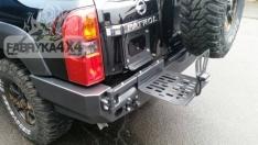 Suport canistra combustibil 30l Nissan Patrol GU4