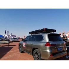 Cort auto pentru 2 persoane Desert Cruiser + roof-rack