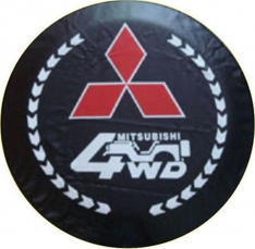 Husa roata de rezerva 4WD Mitsubishi
