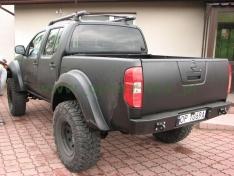 Overfendere Nissan Navara D40 -12cm