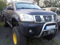 Overfendere Nissan Titan (2004-prezent) -8 cm