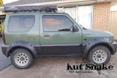 Overfendere Suzuki Jimny (1998-2018) -5 cm