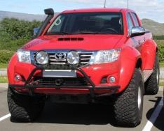 Overfendere Toyota Hilux Vigo (2005-2015)