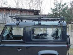 Portbagaj Roof Rack cu plasa pentru Land Rover Defender 90