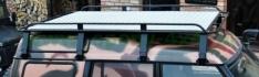 Portbagaj Roof Rack pentru Land Rover Discovery I cu podea de tabla