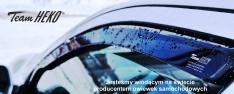 Paravanturi pentru Nissan Patrol Y60 (cu oglinzi electrice)