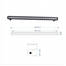 Led Bar Cree 240W 96.5 CM Spot