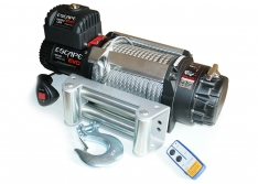 Troliu Escape EVO cu cablu sintetic 15000 lbs (6810kg) IP68
