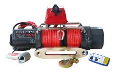 Troliu Escape EVO cu cablu sintetic 8000 lbs (3629kg)