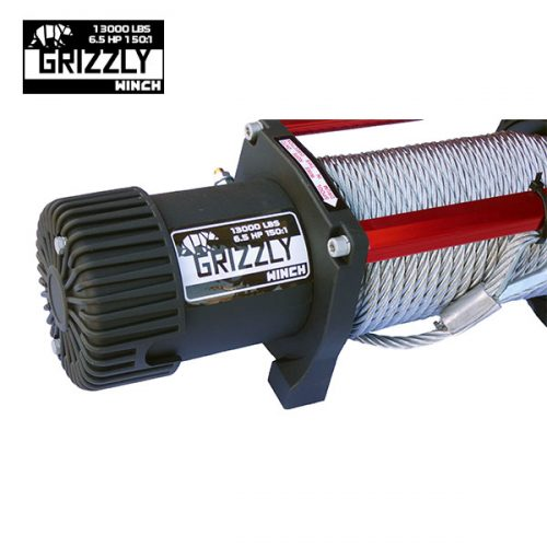 Grizzly Winch 13000lbs_