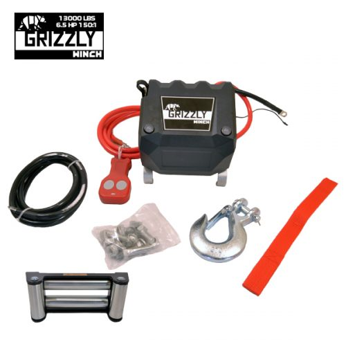 Grizzly Winch 13000lbs__