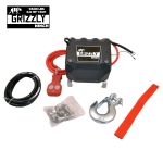 Grizzly Winch 9500lbs sintetic__