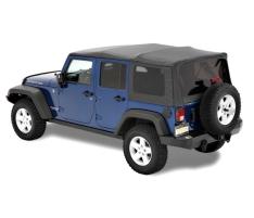 Prelata Supertop NX, inclusiv structura metalica, pentru Jeep Wrangler JK