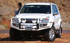 Bullbar Arb Deluxe pentru Toyota Land Cruiser J120 (cu overfendere)