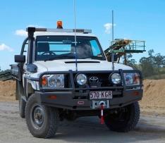 Bullbar Arb Deluxe pentru Toyota Land Cruiser HZJ70 (2007-)