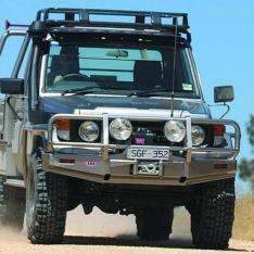 Bullbar Arb Deluxe pentru Toyota Land Cruiser HZJ70 (-2007)
