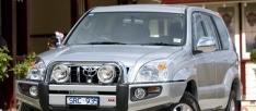 Bullbar Arb Sahara pentru Toyota Land Cruiser J120 (cu overfendere)
