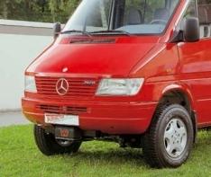Kit montaj troliu pentru Mercedes Benz Sprinter/VW Crafter 1995-2005