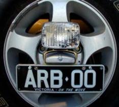 Kit proiectoare spate pentru suport roata de rezerva ARB pentru Toyota Land Cruiser J100 (1998-2007)