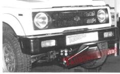 Suport de montaj plug pentru Suzuki Samurai, Jimny