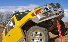 Scut de protectie radiator pentru Toyota Land Cruiser J70, 1999-