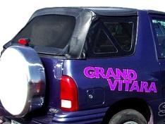 Soft top Deluxe Suzuki Grand Vitara negru 98′-05′