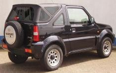 Soft top Deluxe Suzuki Jimny negru 98′-18′